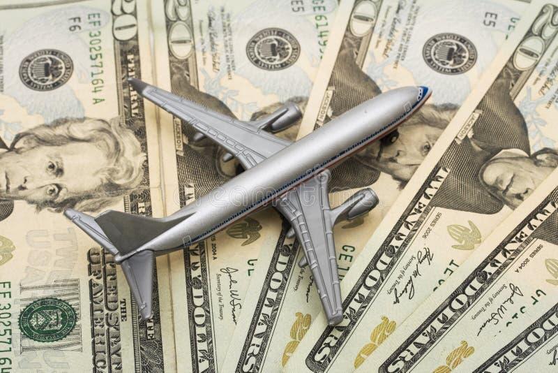 linia lotnicza kosztów zdjęcia royalty free