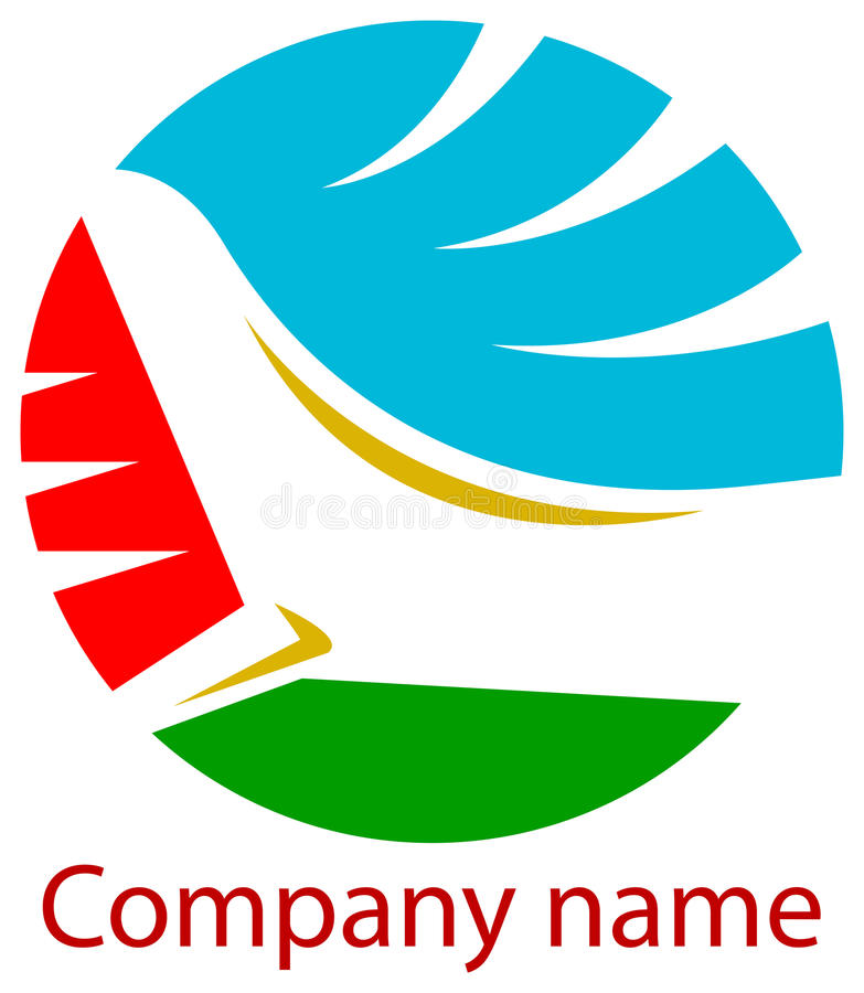 linia lotnicza logo ilustracji