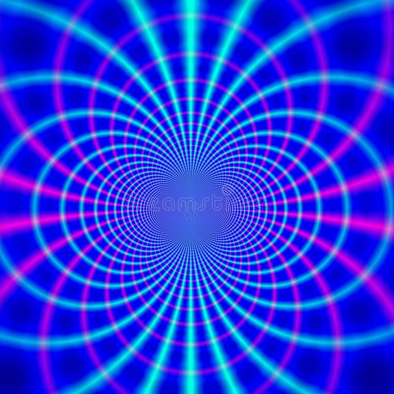 linia magnetycznego/ ilustracji