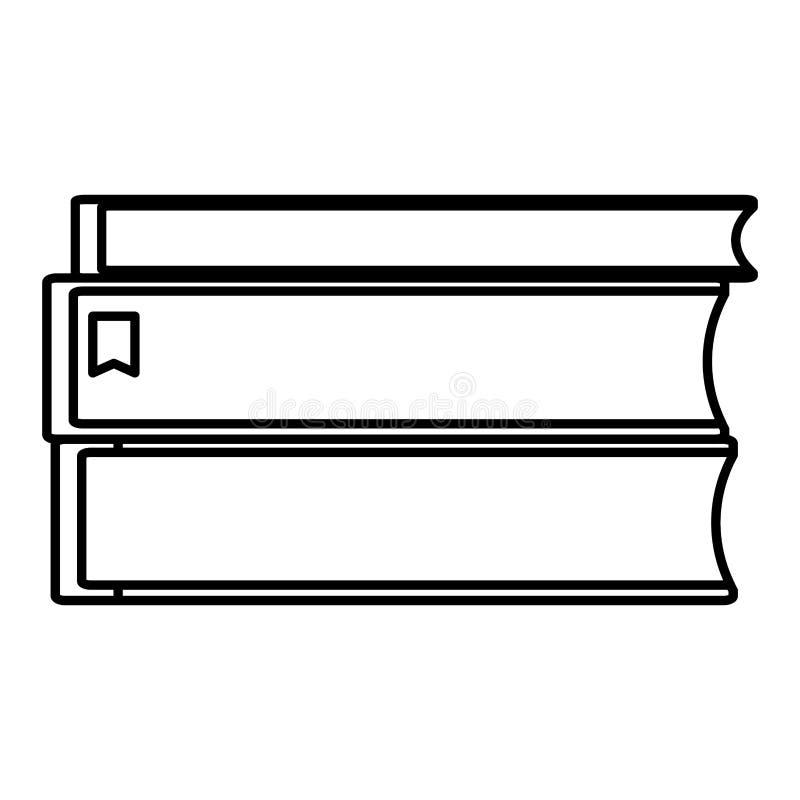 Linia rezerwuje literatury edukacji szkolnej naczynia ilustracji