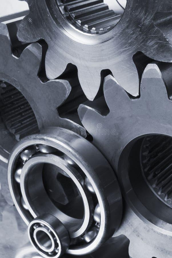 linie łączące części metalowe obraz stock