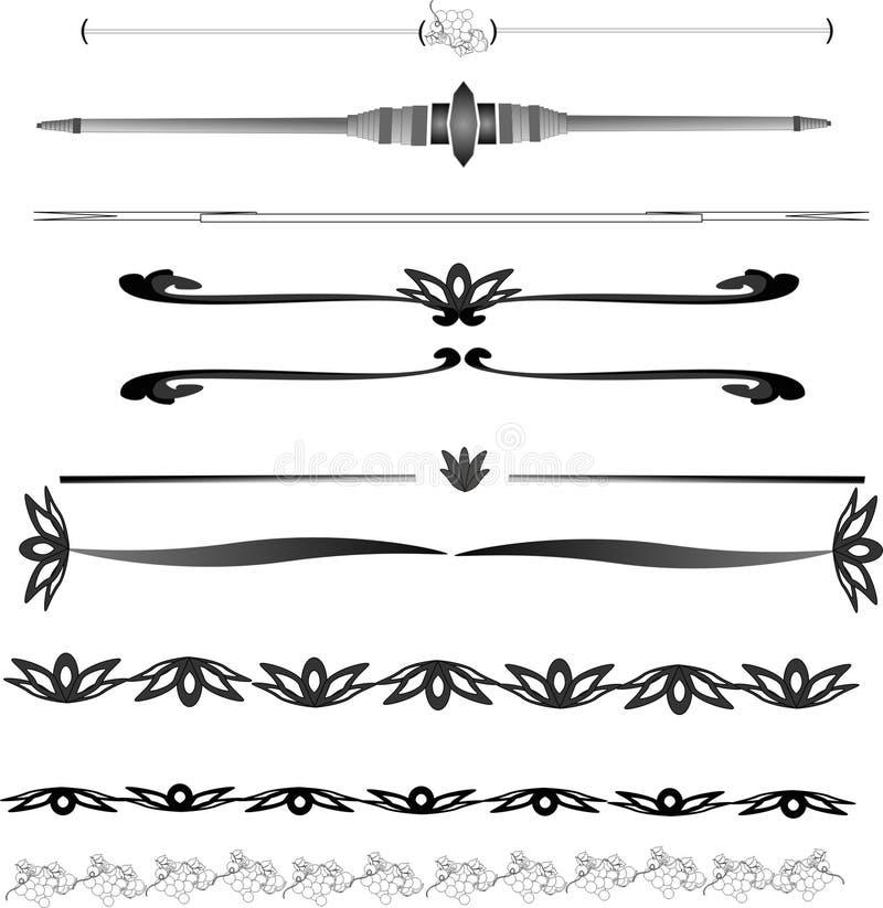 linie ilustracji