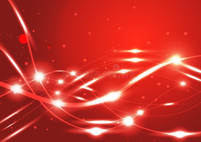 Linie abstrakter glänzender Hintergrund stockfotografie