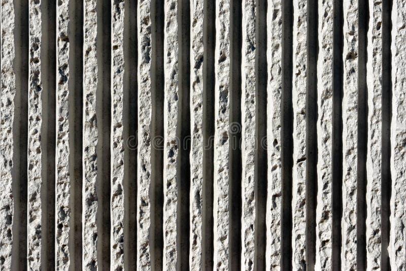 Linie betonowe tekstury na ścianie obraz royalty free