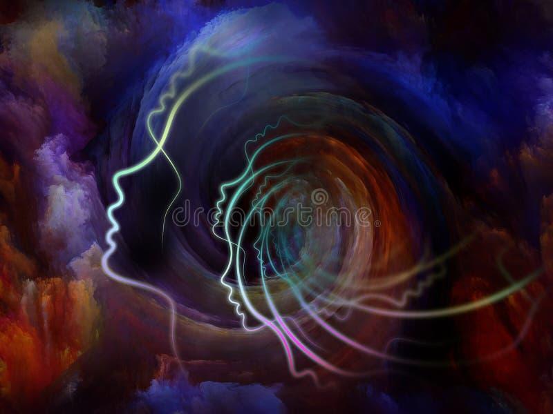 Linie dusza ilustracji