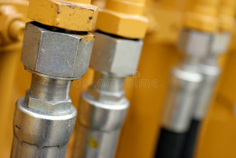 linie hydrauliczne obrazy royalty free