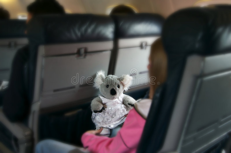 linie lotnicze podróży obrazy stock