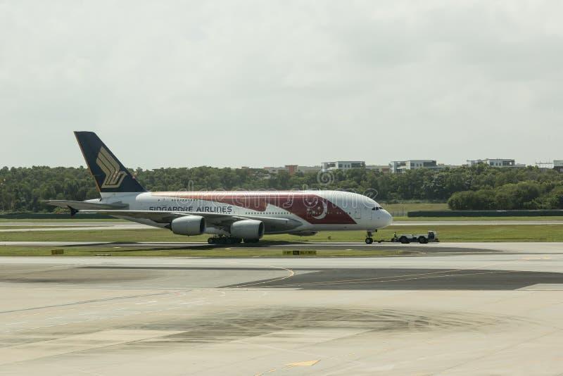 linie lotnicze Singapore obraz stock