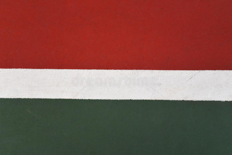 Linie Tennisplatz lizenzfreies stockfoto