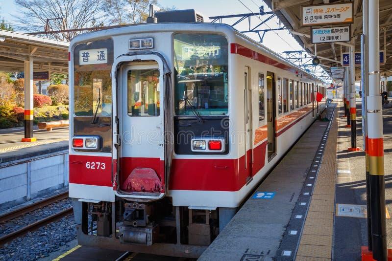 Linie Tobu Nikko lizenzfreies stockfoto