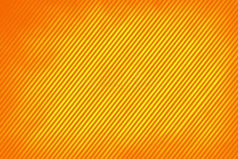 Linien auf Orange lizenzfreie stockfotos
