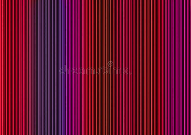 Linien, die in verschiedenen Farben nach unten kommen lizenzfreie stockfotos