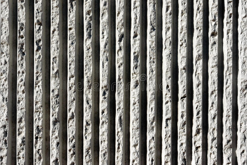 Linien von konkreten Beschaffenheiten auf Wand lizenzfreies stockbild