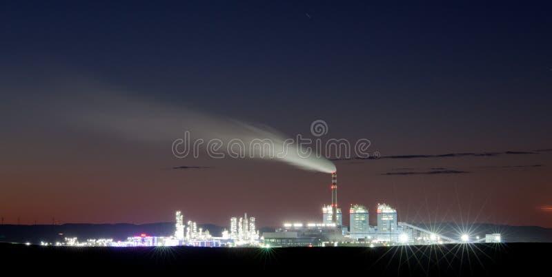 Linienschiff nachts stockfoto