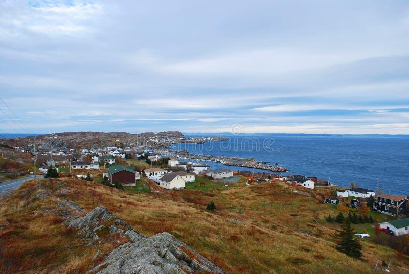 linii brzegowej De Grób port zdjęcie stock