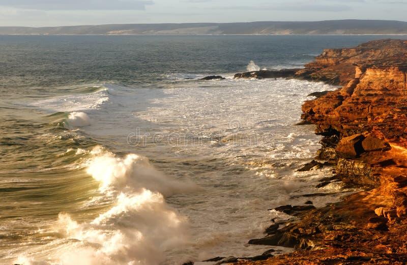 linii brzegowej sceniczny niewygładzony zdjęcia royalty free