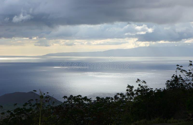 linii brzegowej wyspa Maui zdjęcia royalty free