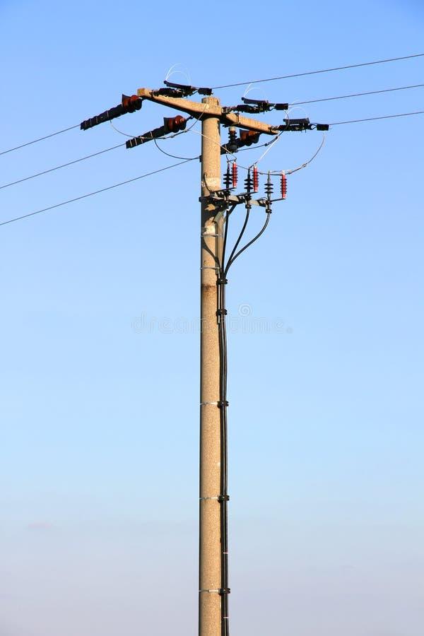 Download Linii energetycznej poczta obraz stock. Obraz złożonej z błękitny - 28963451
