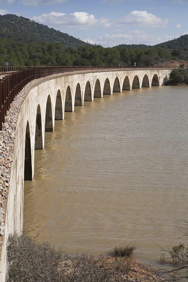 Linii kolejowej cordoba - Almorchon obrazy royalty free