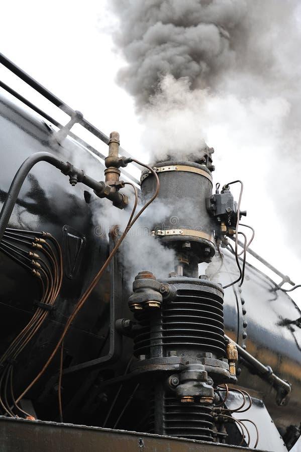 linii kolejowej kontrpary pociągu treno vapore obrazy royalty free