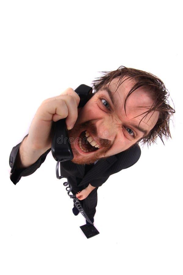linii specjalnej mężczyzna telefonistka fotografia stock