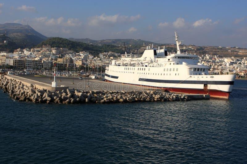 liniowa port morski zdjęcia royalty free