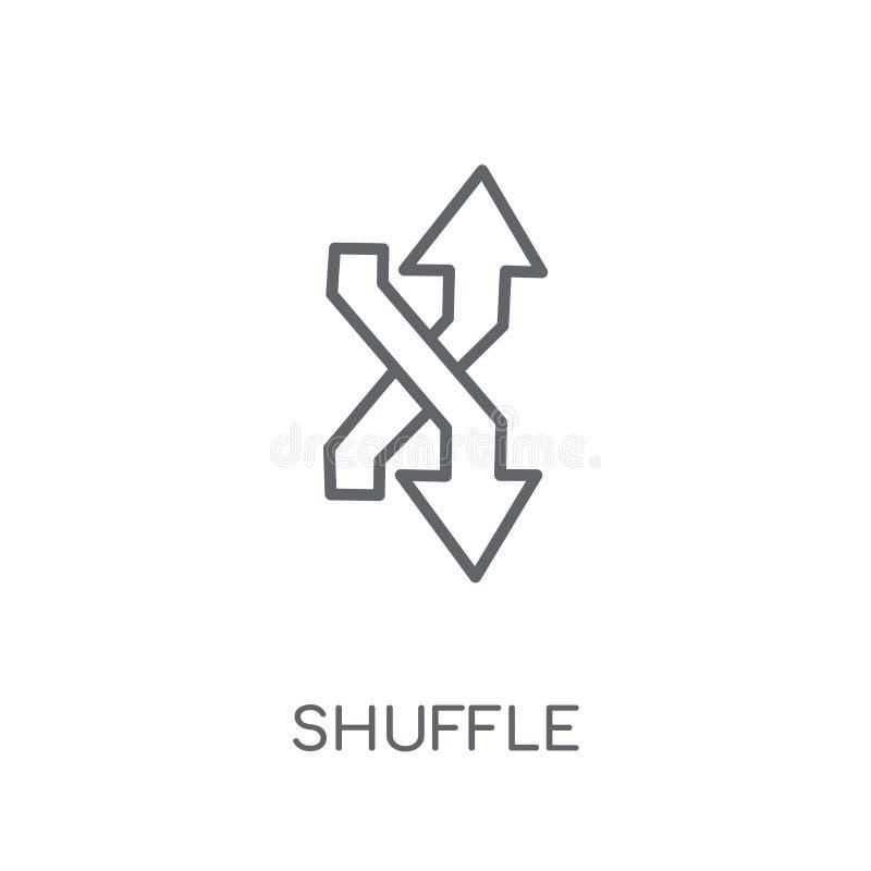 Linjär symbol för röra Modernt begrepp för översiktsröralogo på whit royaltyfri illustrationer