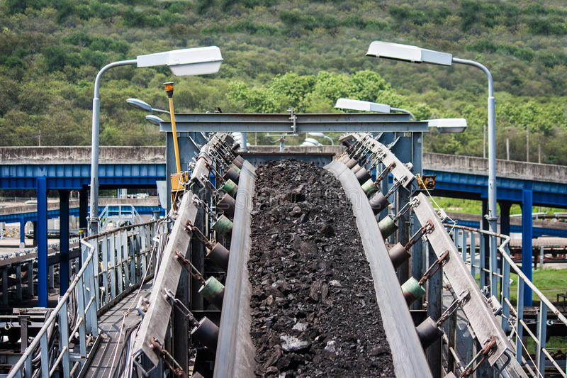 Linje för koltrans. royaltyfri foto