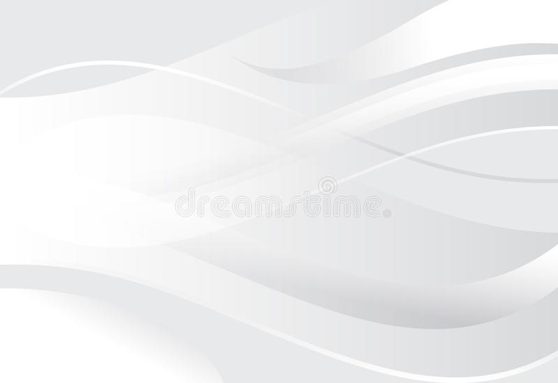 Linje för silverlutningabstrakt begrepp och krabb bakgrund royaltyfri illustrationer