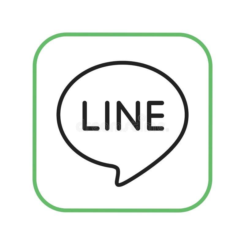 Download Linje Logo, Massmediasymbol Redaktionell Arkivbild - Illustration av kontakt, samkväm: 78730837