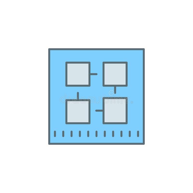 linje symbol för stil för skymning för kvarterkedja Beståndsdel av bankrörelsesymbolen för mobila begrepps- och rengöringsdukapps royaltyfri illustrationer