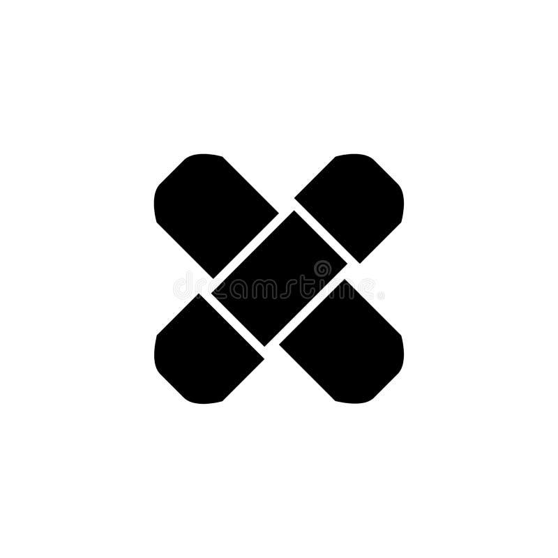 Linje symbol, illustration för översiktsvektorlogo, linjär pictogram som för självhäftande murbruk isoleras på vit vektor illustrationer