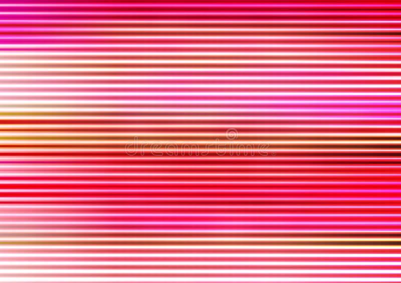 Linje tapet för modell för rosa färgsuddighetsljus arkivbilder