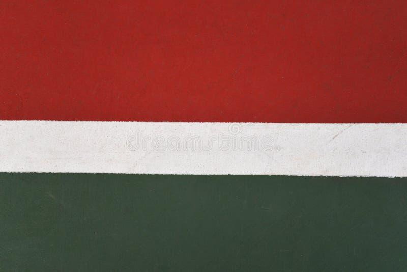Linje tennisbana royaltyfri foto
