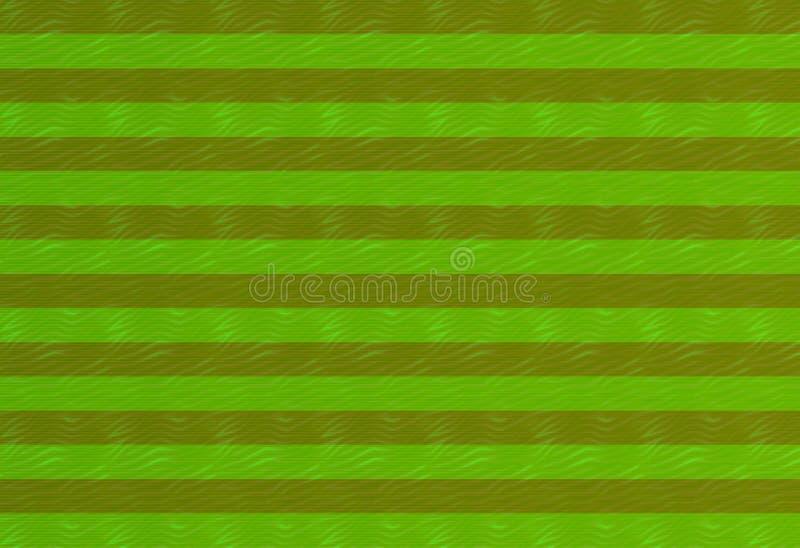 Linjer för oliv för tappninggräsplantextur texturerade mörka, den gjorde randig modellen festlig design för bakgrund stock illustrationer