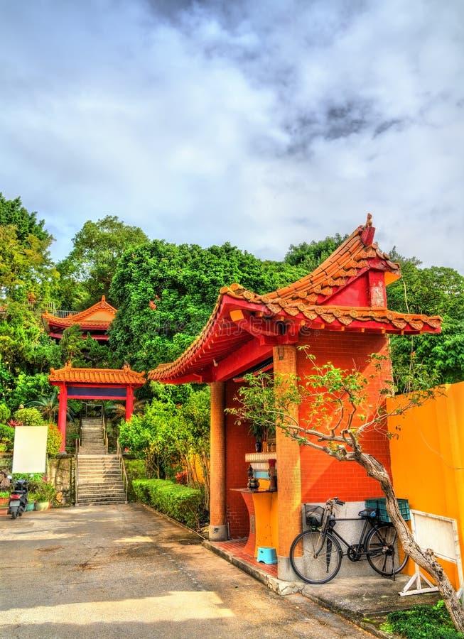 Linji Huguo Chan, en Zen Buddhist Temple i Taipei fotografering för bildbyråer