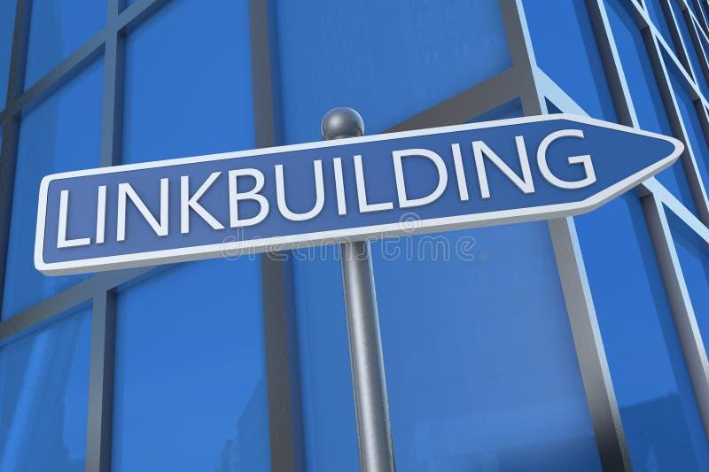 Linkbuilding stock illustration