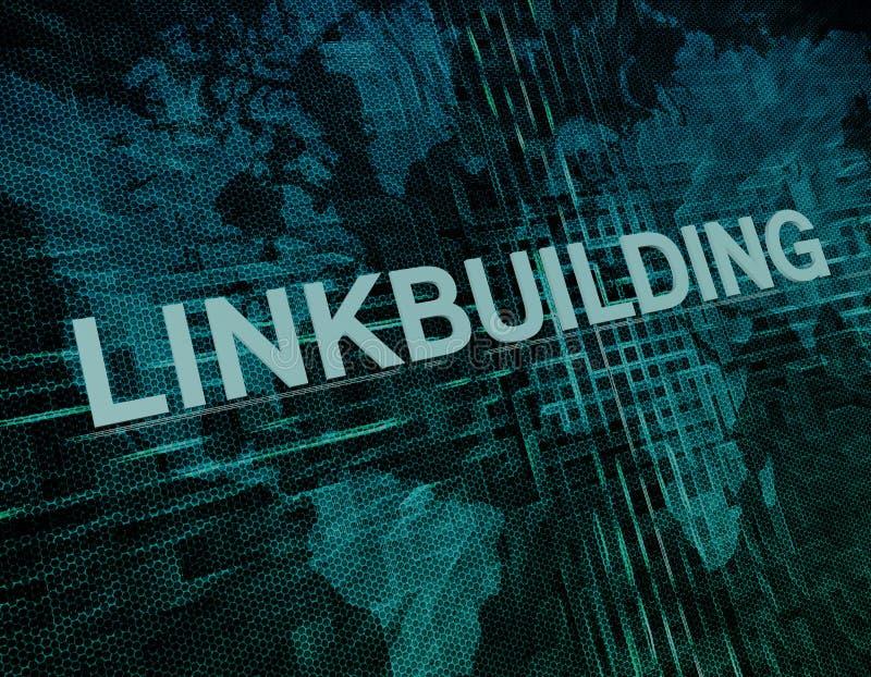 Linkbuilding royalty free illustration