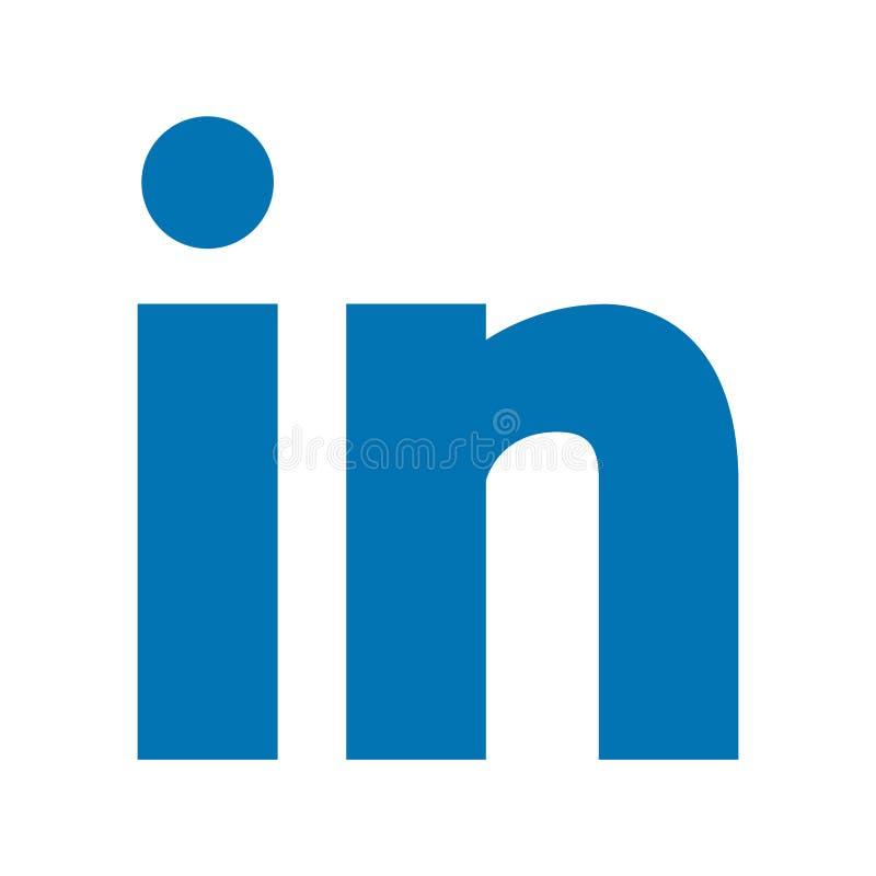 Linkedin royalty-vrije illustratie