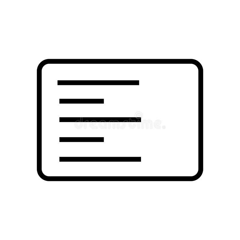 Linkes Seitenausrichtungs-Ikonenvektorzeichen und -symbol lokalisiert auf weißem Hintergrund, linkes Seitenausrichtungs-Logokonze stock abbildung