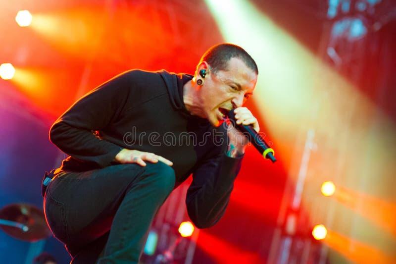 Linkin Park royalty free stock photography