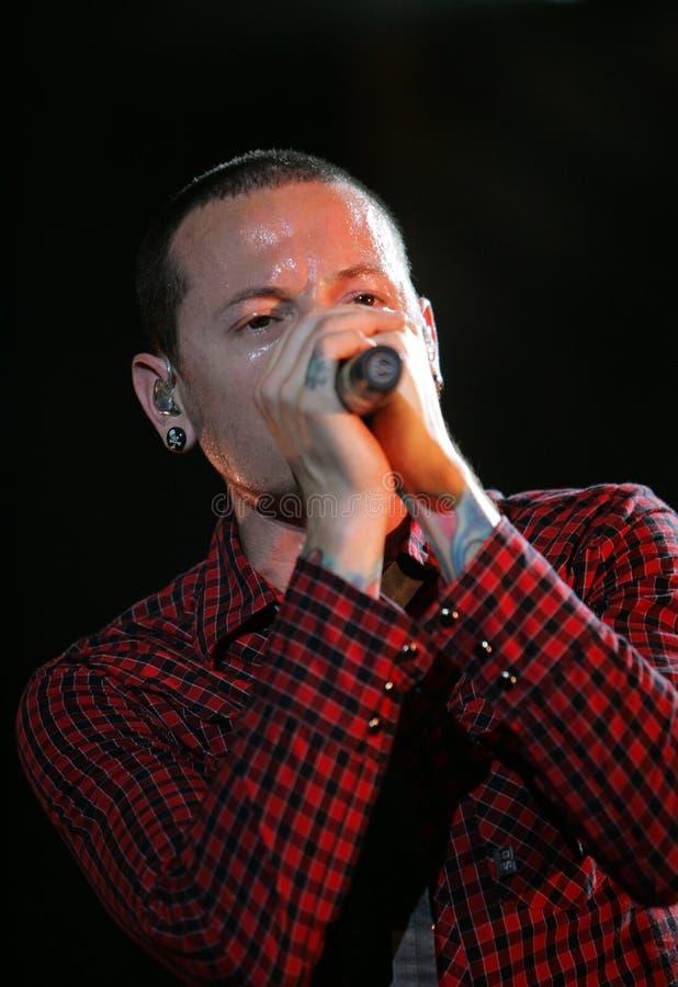 Linkin Park stock photography