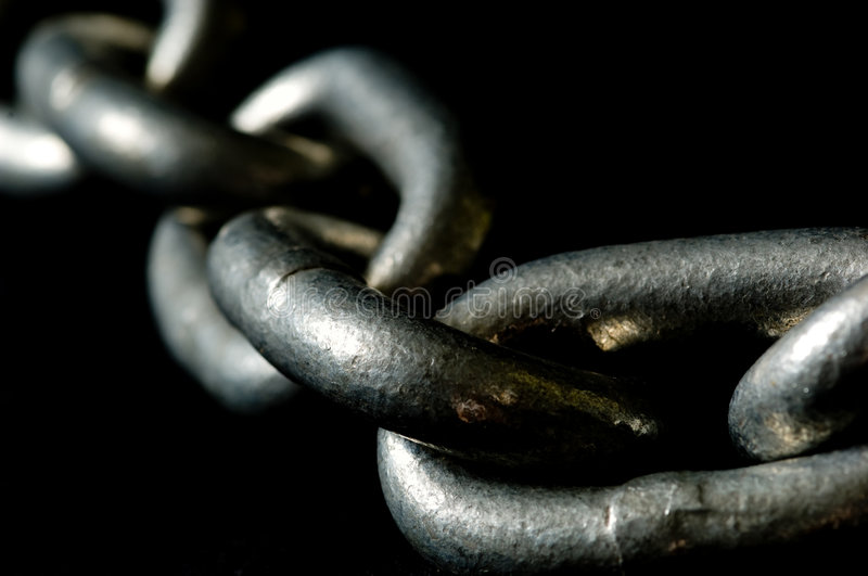 Links of a Chain stock photo