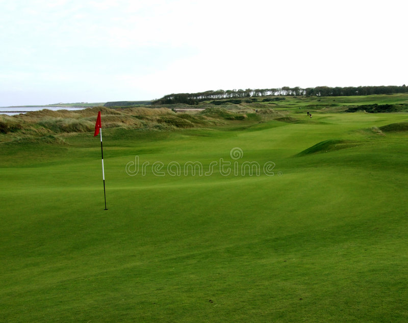Links Golf Royalty Free Stock Images