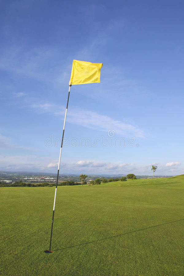 Download Links Golf Flag stock image. Image of early, dawn, help - 330943