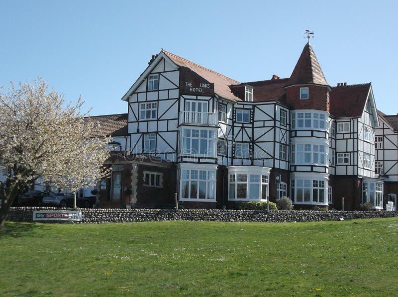 The Links Hotel West Runton stock image