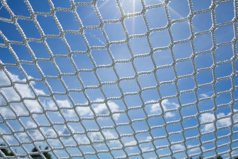 Links net web network chain fiber seine sky. Links net web network chain cell seine sky royalty free stock photography