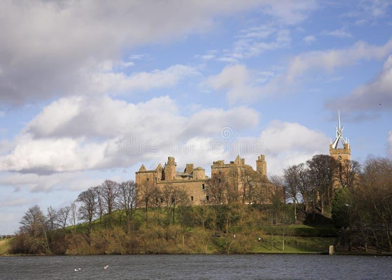 Linlithgo Palace stock photo