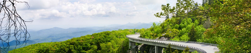Linn Cove Viaduct stock image