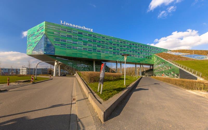 Linnaeusborg vägar fotografering för bildbyråer